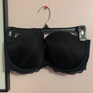 Victorias secret | black strapless bra